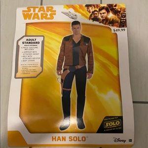 Star wars costume Han Solo